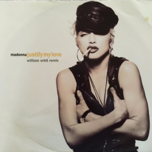 "Madonna - Justify My Love (12"") (VG/VG)"